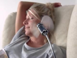 Poltrona Relax modello Amami, ventilatore