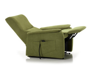 Berny Relax armchair, backrest and footrest open
