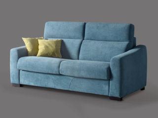 Cimone sofa bed, Large armrest