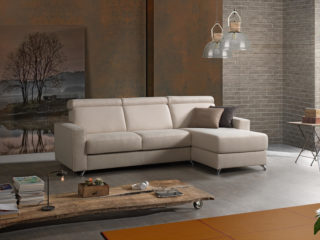 Como Sofa Bed with chaise longue