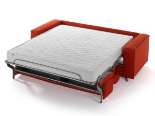 Canapé-lit Como, lit ouvert
