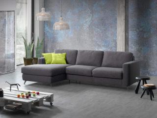 Eclisse sofa bed con penisola