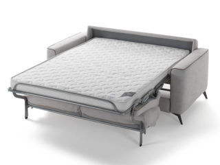 Eclisse sofa bed, open bed