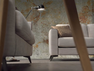 Eclisse sofa bed, detail
