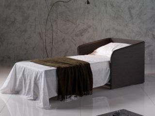 Elsa chair-bed, open bed