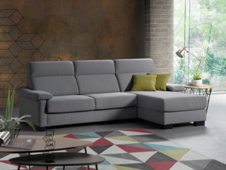 Empire sofa bed with chaise longue
