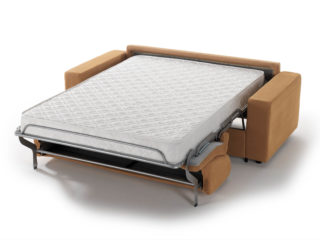 Everest sofa bed, open bed
