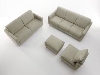 Italo sofa bed, composition