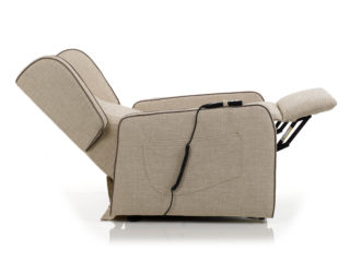 Pinta Relax armchair, backrest and footrest open