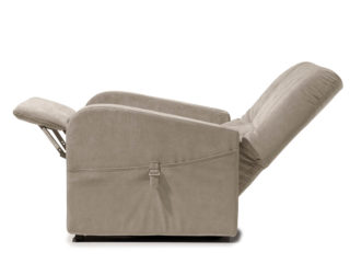 Poltrona Relax modello Raffa, schienale e poggiapiedi aperti