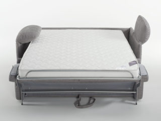 Victor sofa bed, open bed (front)