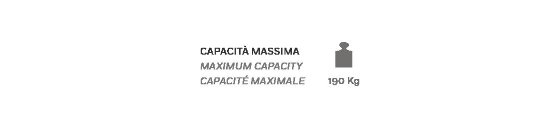 Multilpla XL Poltrona Relax - Scheda Tecnica - Capacità Massima 190Kg