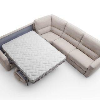 Divano Relaxo, con letto
