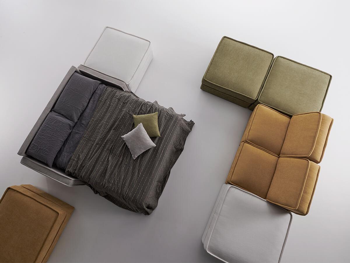 Composizione Memory Foam.Sofa Beds Young Vitarelax